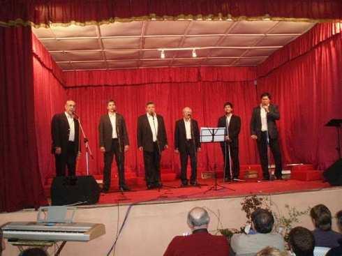 Conjunto Vocal Raíces en Uruguay