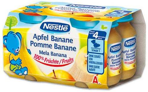 Nestle Gerber Banana Baby Food